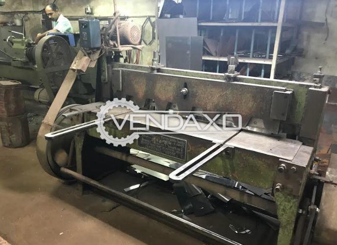 Gurmeet Industries Make Guillotine Shearing Machine - Length - 2120 mm