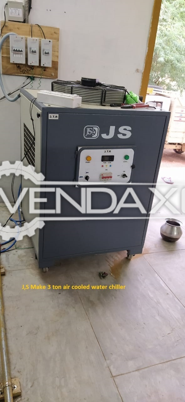 JS Make Air Cooled Water Chiller - 3 Ton