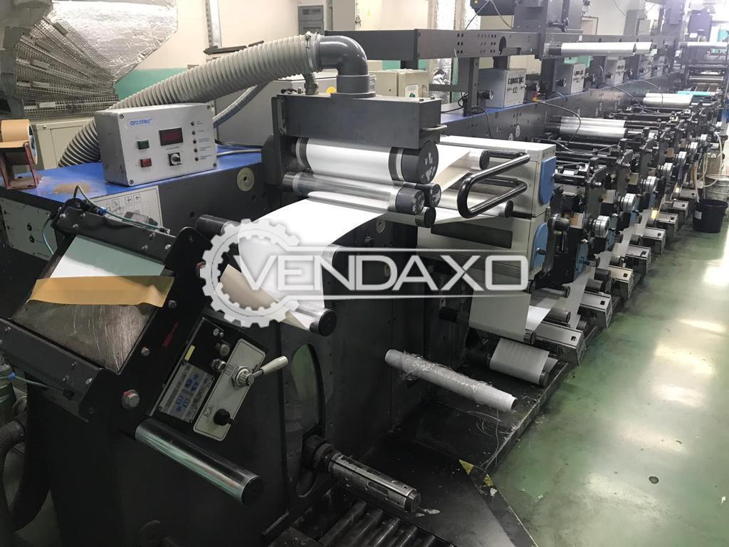 Gallus EM 280 Flexo Printing Machine - Web Width - 280 mm, 2004 Model
