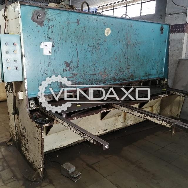 Hydraulic Shearing Machine - 2500 mm x 6 mm
