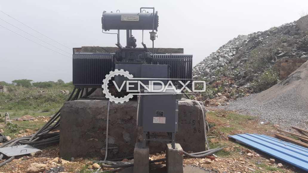 Universal Transformer - 2000 Kva, 2012 Model