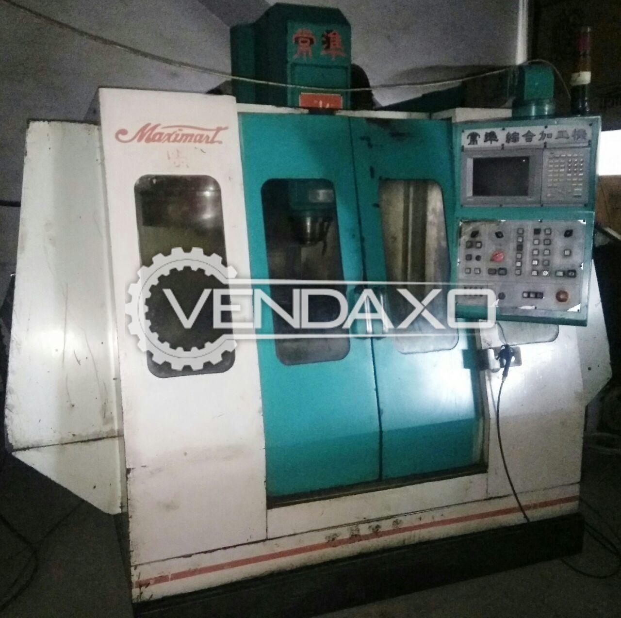Maximart MC-85-E CNC Vertical Machining Center