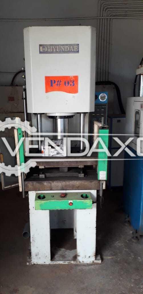Hyundae Hydraulic Power Press - 30 Ton