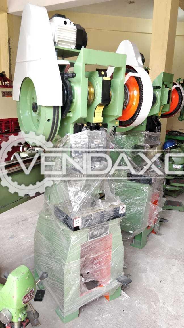 C Type Power Press - 10 Ton