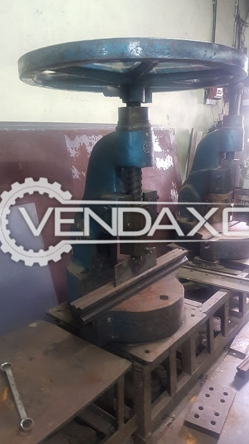 2 Set OF Hedavkar Make Open body  7 No. Deep Bed Hand Press - 2000 Model