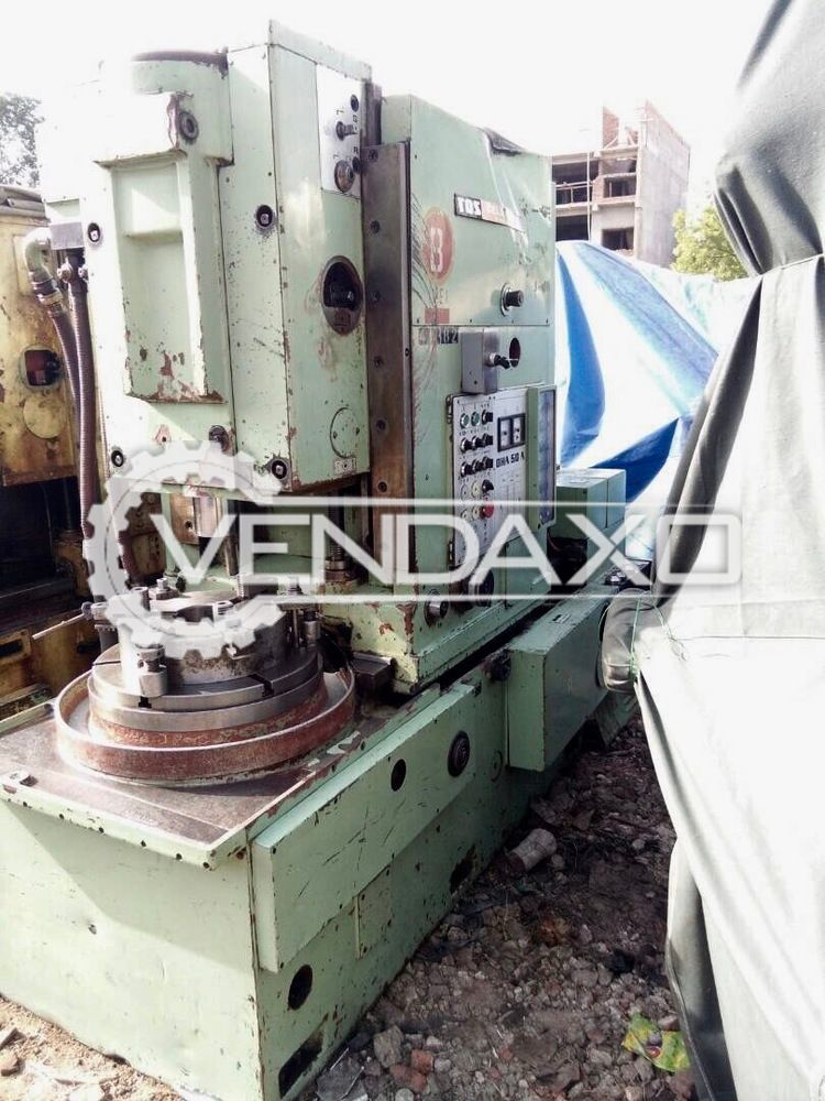 TOS OHA 50A Gear Shaping Machine - Maximum Wheel Diameter : 500 mm