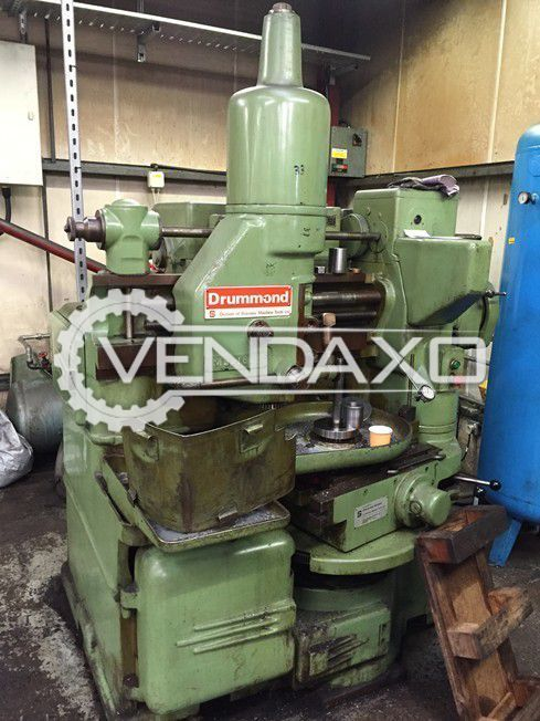Drummond Maxicut 3A Gear Shaping Machine - Max.Diameter : 600 mm