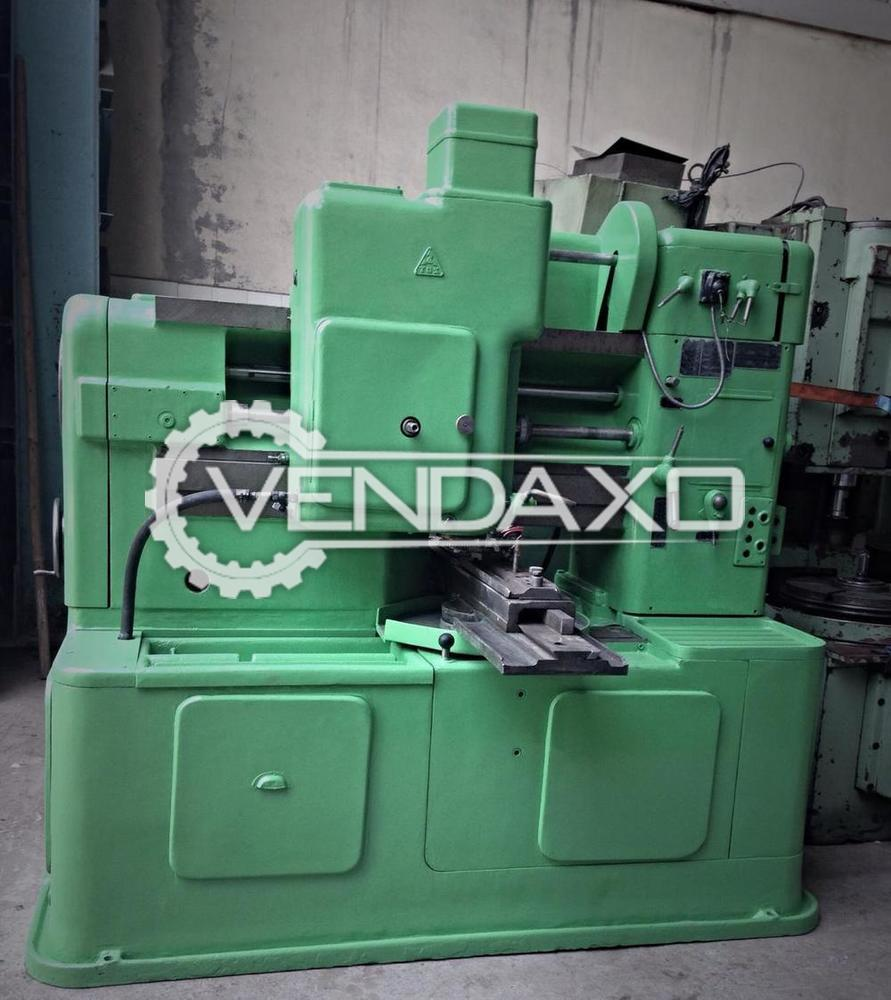 TOS Make Gear Shaper with Rack Cutting Machine - Chuck Diameter : 600 mm
