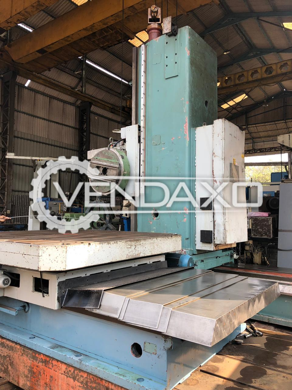 TOS WD 130 A Floor Boring Machine - Rotary Table Size : 2200 x 2200 mm