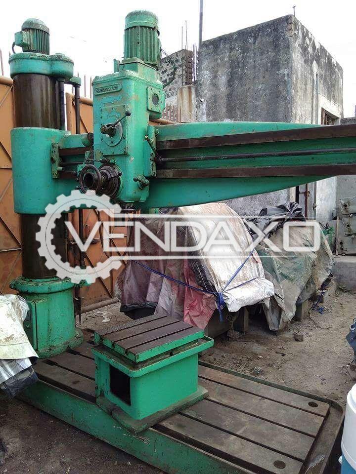HMT Radial Drill Machine - 65 MM