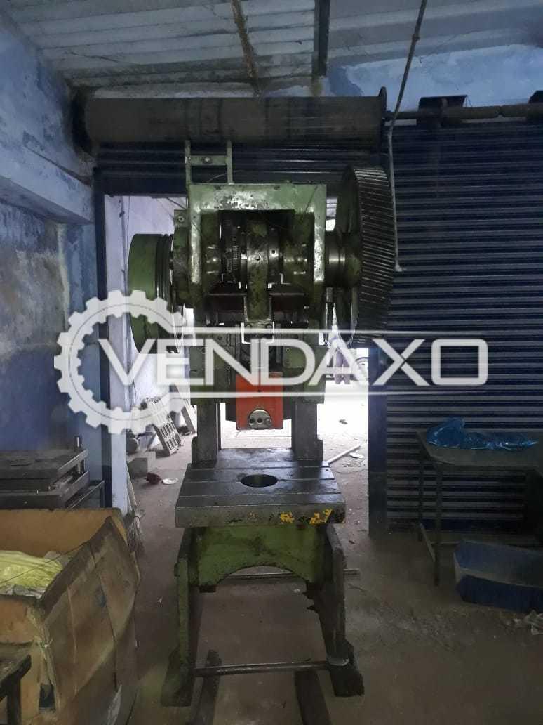Indian Make C Type Power Press Machine - 63 Ton