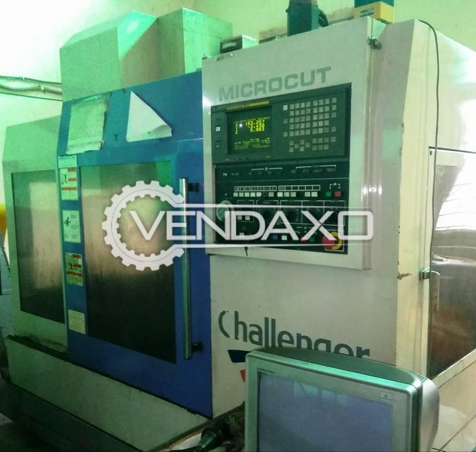 Microcut MCV-800 CNC Vertical Machining Center