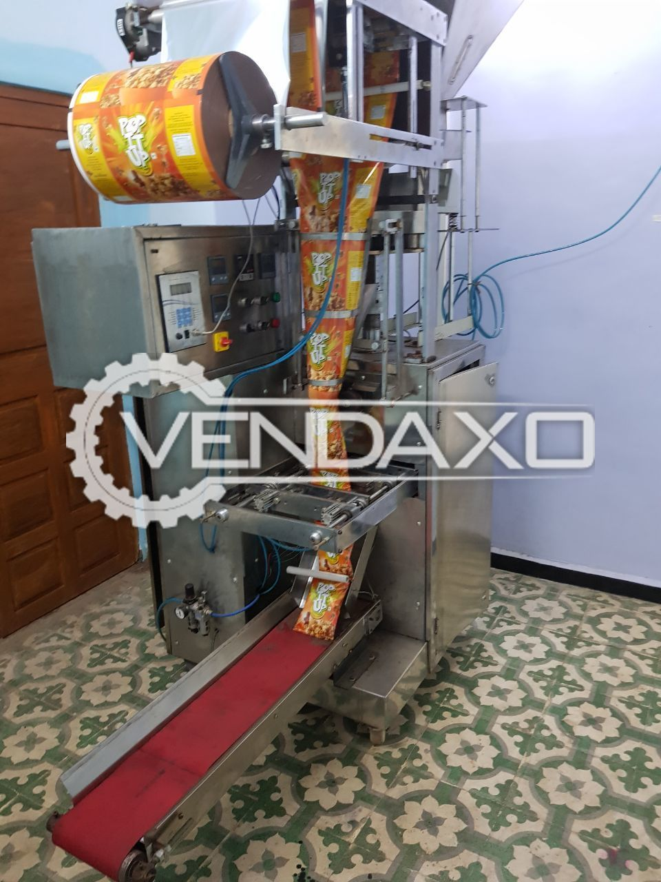 VFS Pouch Packaging Machine - 5 GM to 25 GM cup size