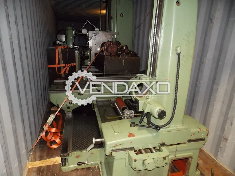 TOS WH80 Horizontal Boring Machine - Clamping Table Surface : 1000 x 1000 mm