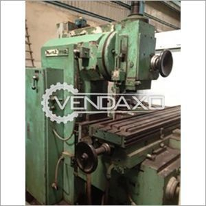 HMT FN2 Milling Machine - Clamping Area : 1350 x 310 mm