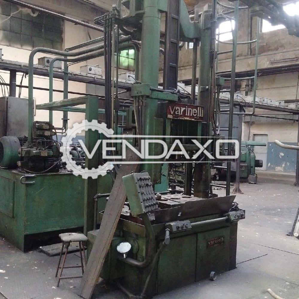 Varinelli BV 20-1800 Vertical Broaching Machine - 20 Ton