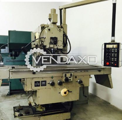 WMW Heckert FQ 400 Vertical Milling Machine - Surface Area - 78.75 x 19 Inch
