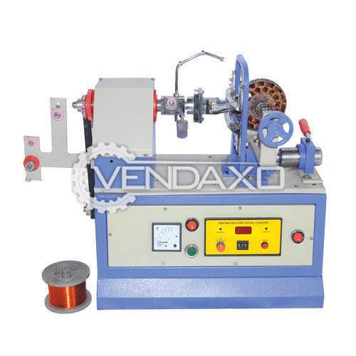Semi Automatic Ceiling Fan Winding Machine - 105 to 165 mm, 2018 Model