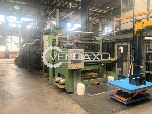 Calender Printing Line Briem - Width - 1600 mm