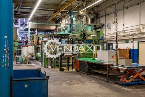 Available For Sale Polymer Machinery Film Line Complete Setup