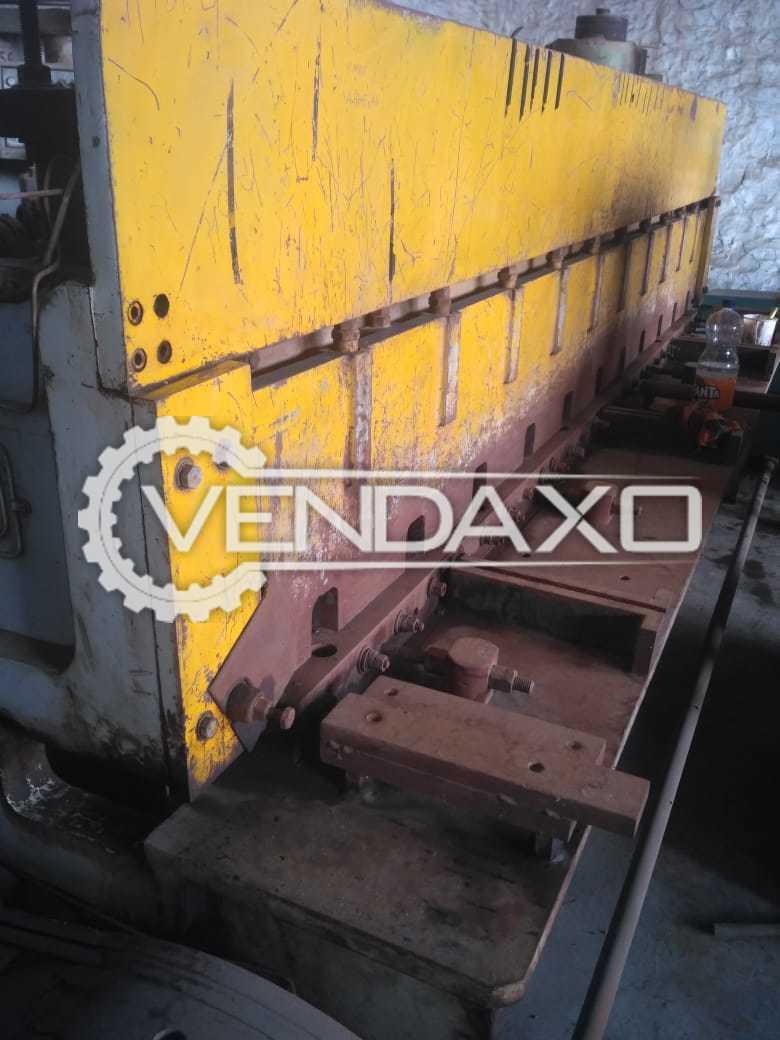 GANDHI Make Shearing Machine - 3000 X 5 MM