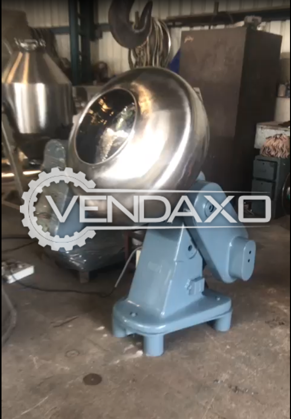 Cadmach Make Coating Pan - 30 Inch