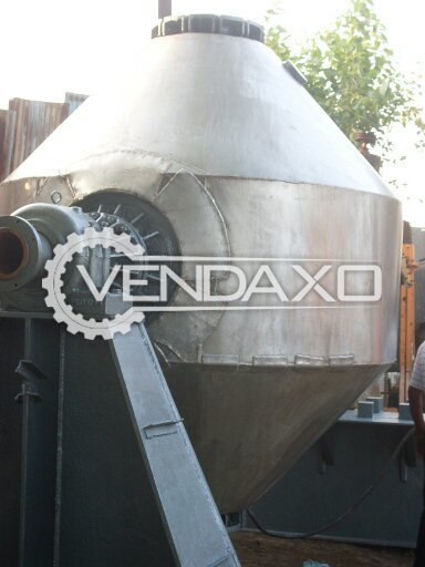 Roto Cone Vacuum Dryer With SS Jacket Outside (RCVD) - 5000 Liter