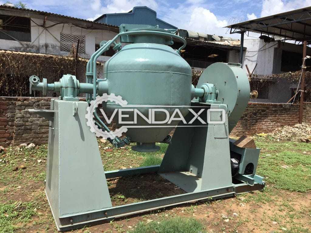 Roto Cone Vacuum Dryer (RCVD) - 1000 Liter