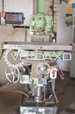 DUFOUR Universal Milling Machine - 750 x 250 x 450 mm