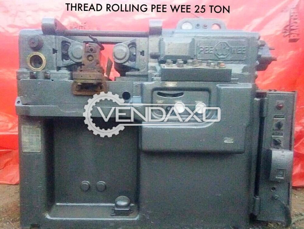 Pee Wee Make Thread Rolling Machine - 25 Ton
