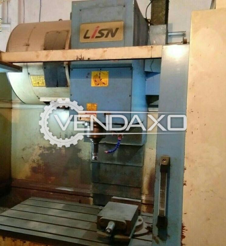 Litz MV-1000A CNC Vertical Machining Center