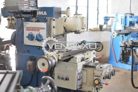 INDUMA Milling Machine - 900 x 300 x 450 mm