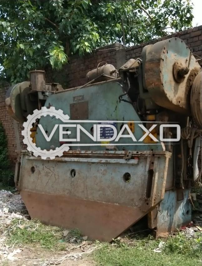 Godrej Make Press Brake Machine - 3200/3600 x 8 mm, 140 Ton