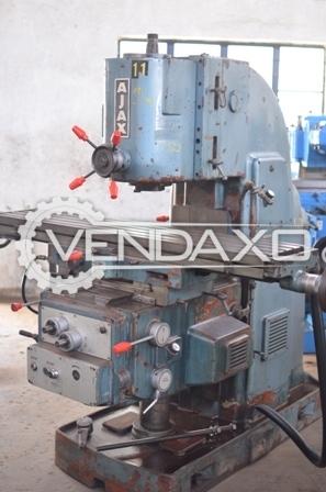 AJAX Vertical Milling Machine - 1000 x 300 x 500 mm