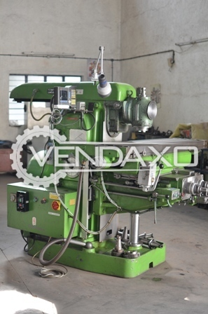 PARKSON Universal Milling Machine - 1400 x 380 x 550 mm