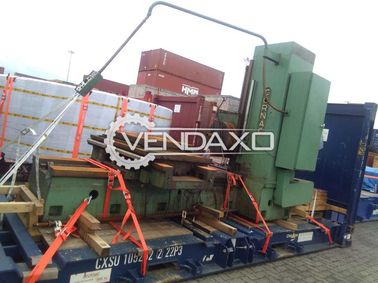 Cornac C100 Horizontal Boring And Milling Machine - Table Size : 1420 x 980 mm