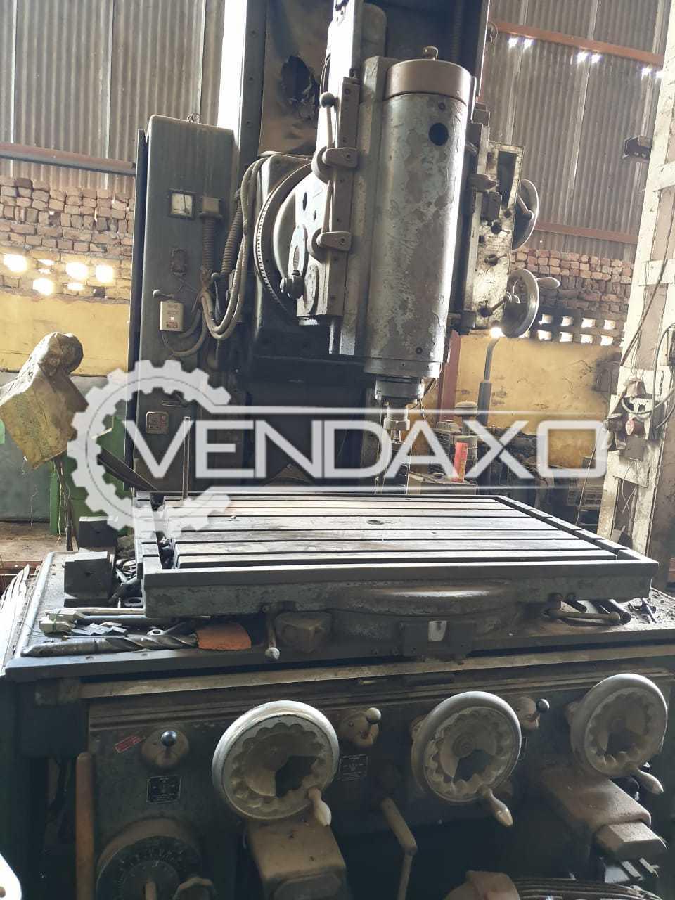 Boko Make Milling Machine - Table Size : 1000 x 700 mm