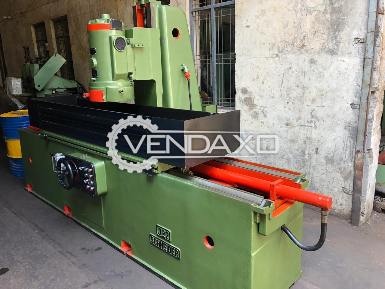 Schneider Make Cup Grinding Machine - Table Size : 1200 x 300 mm