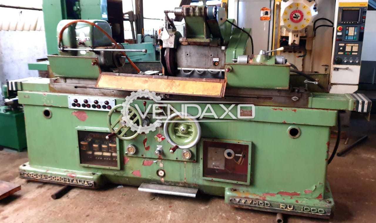 Zocca RU1000 Cylindrical Grinding Machine - Center Height : 165 mm
