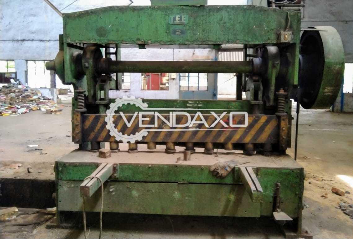 TEE Make Mechanical Shearing Machine - 2100mm x 6mm