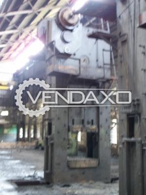 Waldkings & Michel Make Extrusion Forging Press Machine - Bed Size : 1200 x 1200 mm, 500 Ton
