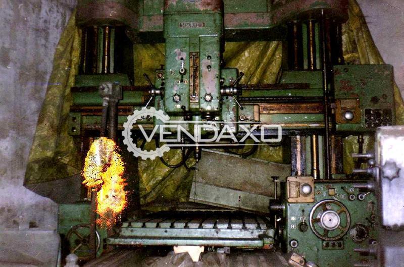 MAS WKB100 Double Column Type Jig Boring Machine - Table Size : 2500 x 1400 mm