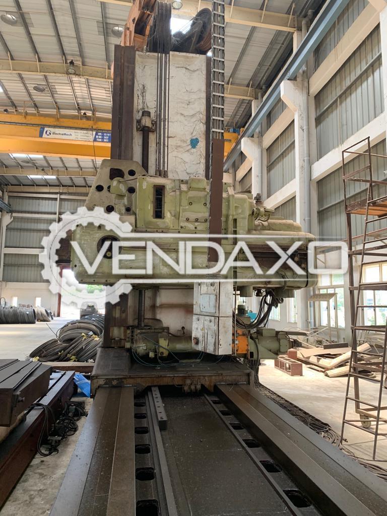 Skoda Floor Boring Machine - 2200 x 2200 x 200 mm
