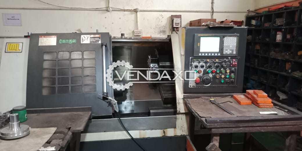 Indian Make CNC Turning Center - Chuck Diameter : 200 mm