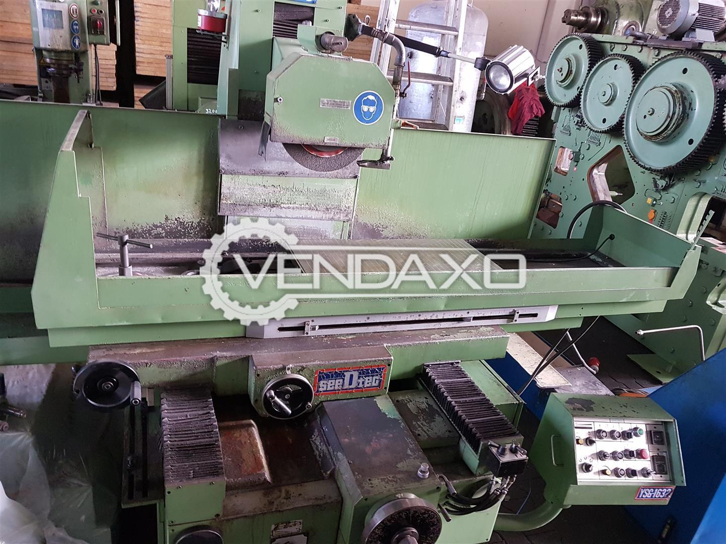 Seedtec 1632AHD Surface Grinding Machine - Magnet Table Size : 900 x 400 mm