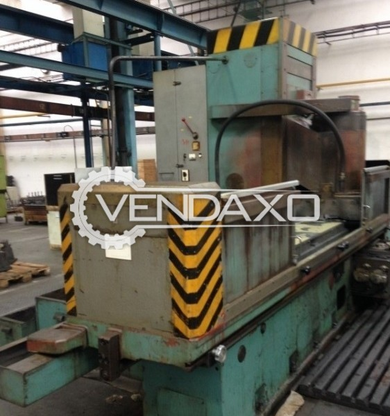 TOS BPV40/2000 Surface Grinding Machine - Grinding Length : 2000 mm