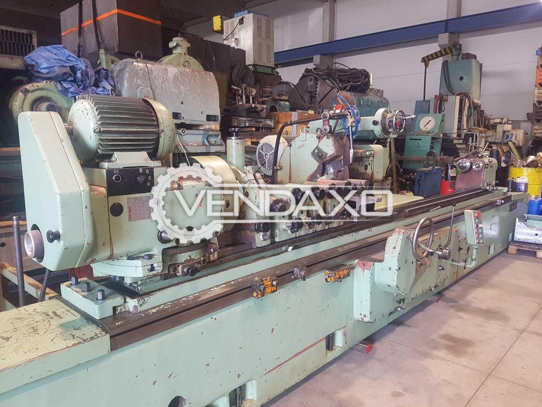 TOS Make Roll Grinding Machine - Max.Grinding Diameter : 630 mm