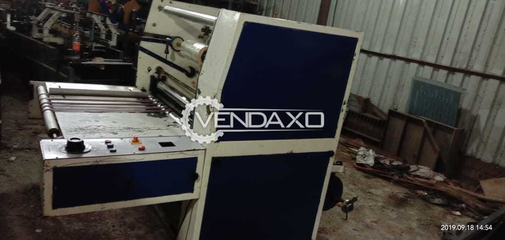 Available For Sale Plain Lamination Machine - SIze - 30 Inch