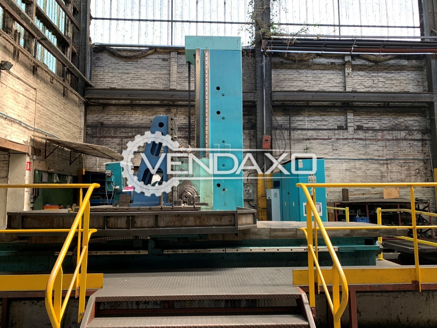 TOS WHN13 CNC Table Type Boring Machine - Table Size : 1600 x 1800 mm