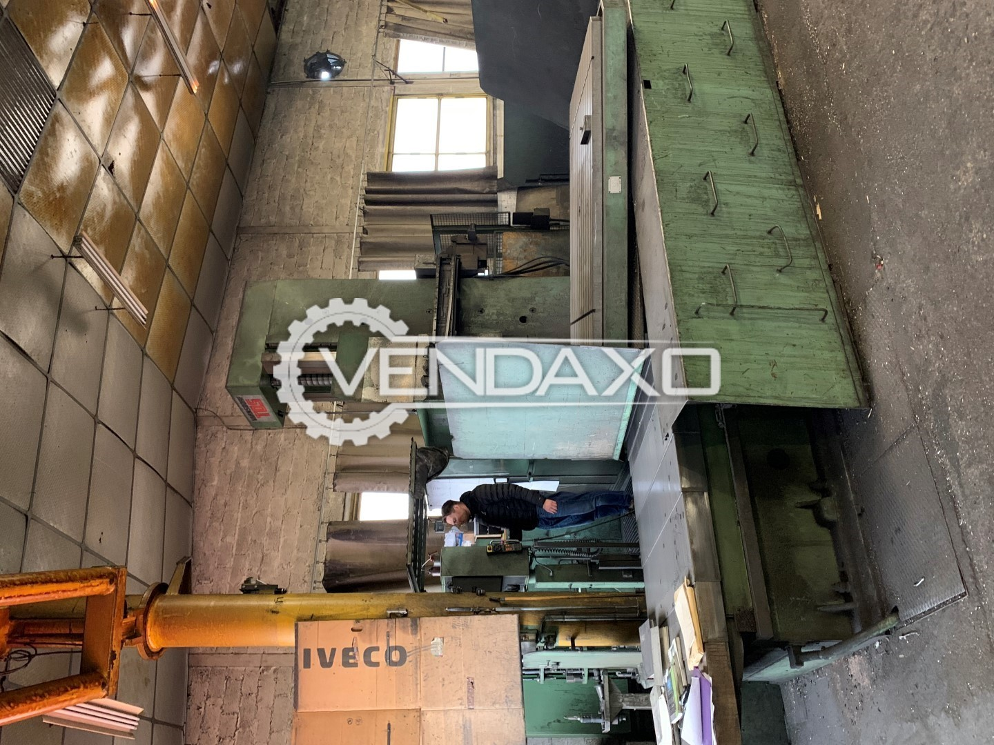 TOS WHN13 CNC Table Type Boring Machine - Table Size : 1800 x 2200 mm